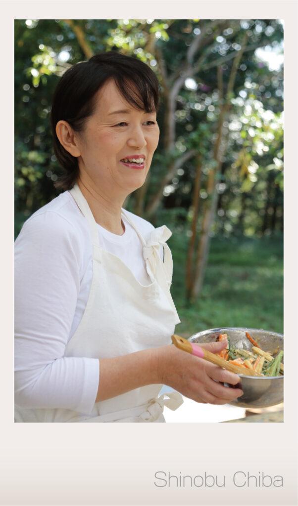 霧島食育研究会 理事長 千葉しのぶ